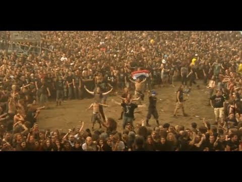 """Most """"BRUTAL"""" Wall of Death at a Metal Festival Ever!!"""