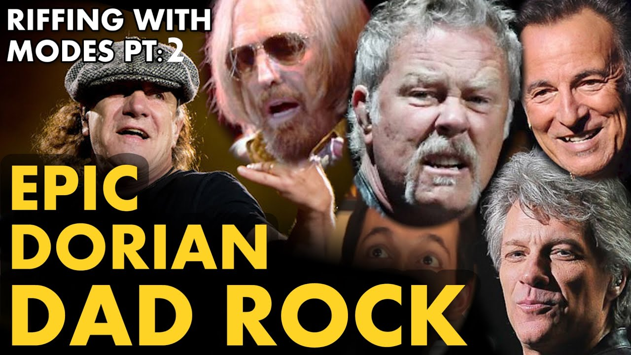 Writing Powerful Dorian Dad Rock in 6/8 – Riffing with Modes #2