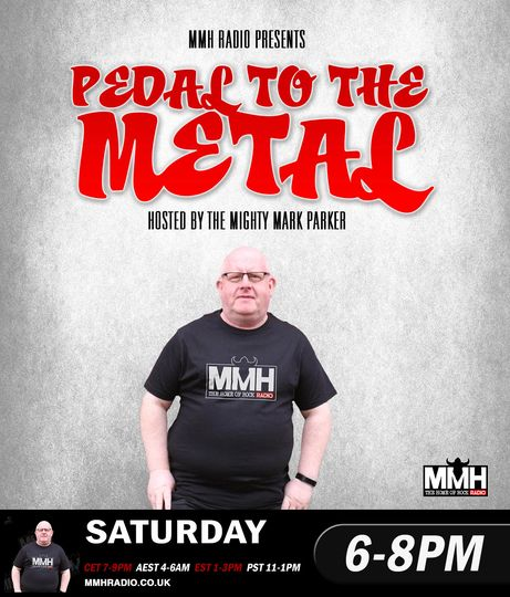 Thank you so much Mark 💙It's almost time for Pedal To The Metal to take to the airwaves again.  Tonight featuring the a…